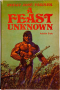 Books:Science Fiction & Fantasy, Philip Jose Farmer. A Feast Unknown. [Kansas City]: FokkerD-LXIX Press, [1975]. First hardcover edition, first ...