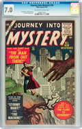 Golden Age (1938-1955):Science Fiction, Journey Into Mystery #26 (Atlas, 1955) CGC FN/VF 7.0 Off-white towhite pages....
