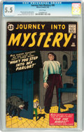 Silver Age (1956-1969):Horror, Journey Into Mystery #80 (Marvel, 1962) CGC FN- 5.5 White pages....
