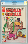 Bronze Age (1970-1979):Cartoon Character, Magilla Gorilla #1 (Charlton, 1970) CGC NM- 9.2 White pages....