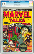 Golden Age (1938-1955):Horror, Marvel Tales #97 (Atlas, 1950) CGC FN/VF 7.0 Off-white to whitepages....