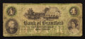 Canadian Currency: , Brantford, CW- Bank of Brantford $4 Nov. 1, 1859 Ch. # 40-10-04-06....