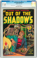 Golden Age (1938-1955):Horror, Out Of The Shadows #7 (Standard, 1953) CGC FN/VF 7.0 Off-white towhite pages....
