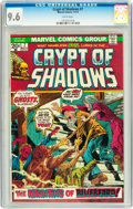 Bronze Age (1970-1979):Horror, Crypt of Shadows #7 (Marvel, 1973) CGC NM+ 9.6 White pages....