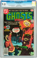 Bronze Age (1970-1979):Horror, DC Special Series #7 Ghosts Special (DC, 1977) CGC NM/MT 9.8 Whitepages....