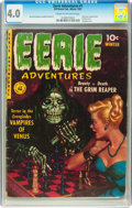 Golden Age (1938-1955):Horror, Eerie Adventures #1 (Ziff-Davis, 1951) CGC VG 4.0 Cream tooff-white pages....