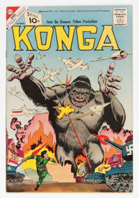 Konga #4 (Charlton, 1961) Condition: VF/NM