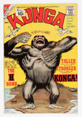Silver Age (1956-1969):Horror, Konga #5 (Charlton, 1962) Condition: VF+....