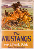 Books:Americana & American History, J. Frank Dobie. The Mustangs. Boston: Little, Brown, [1952].First edition, first printing. Octavo. 376 pages. P...