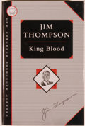 Books:Mystery & Detective Fiction, Jim Thompson. King Blood. New York: Armchair DetectiveLibrary/Otto Penzler Books, [1993]. First American edition. O...