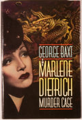Books:Mystery & Detective Fiction, George Baxt. INSCRIBED. The Marlene Dietrich Murder Case.New York: St. Martin's Press, [1993]. First edition, f...