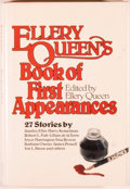 Books:Mystery & Detective Fiction, Ellery Queen and Eleanor Sullivan. Ellery Queen's Book of FirstAppearances. New York: Dial Press, [1982]. First...