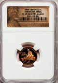 Proof Lincoln Cents, 2009-S 1C Formative Years Bronze PR69 Red Ultra Cameo NGC. NGCCensus: (11794/1671). PCGS Population (4240/272). Numismedi...