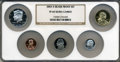 Proof Sets, 2003-S 1C Silver Proof Set PR 69 Ultra Cameo NGC. This Set Includes: Lincoln Cents, Jefferson Nickel Roosevelt Dime, Kenned... (Total: 5 coins)