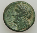 Ancients:Ancient Lots  , Ancients: GREEK. Sicily / Italy. Lot of two AE coins. ... (Total: 2coins)