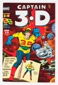 Golden Age (1938-1955):Superhero, Captain 3-D #1 File Copy Group (Harvey, 1953) Condition: Average VF.... (Total: 3 Comic Books)