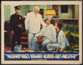 "Movie Posters:War, Across the Pacific (Warner Brothers, 1942). Lobby Card (11"" X 14"").War.. ..."