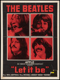 "Movie Posters:Rock and Roll, Let It Be (United Artists, 1970). Belgian (14.25"" X 18.5""). Rock and Roll.. ..."
