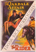Books:Science Fiction & Fantasy, [Jerry Weist]. Edgar Rice Burroughs. The Oakdale Affair and TheRider. Tarzana: Edgar Rice Burroughs, [1937]. First ...