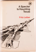 Books:Science Fiction & Fantasy, [Jerry Weist]. Fritz Leiber. SIGNED. A Specter Is HauntingTexas. New York: Walker, [1969]. First edition, first pri...