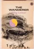 Books:Science Fiction & Fantasy, [Jerry Weist]. Fritz Leiber. The Wanderer. New York: Walker, [1970]. First American edition, first printing. Octavo....