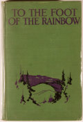 Books:Americana & American History, [American Southwest]. Clyde Kluckhorn. To the Foot of theRainbow... New York: Century, [1927]. First edition. Illus...