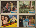 """Movie Posters:War, Wings Over the Pacific (Monogram, 1943). Title Lobby Card &Lobby Cards (3) (11"""" X 14""""). War.. ... (Total: 4 Items)"""