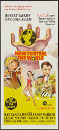 """Movie Posters:Adventure, How to Steal the World (MGM, 1968). Australian Daybill (13"""" X 30"""").Adventure.. ..."""
