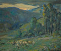 Fine Art - Painting, American:Modern  (1900 1949)  , OTTO HENRY SCHNEIDER (American, 1865-1950). Twilight. Oil oncanvas. 25 x 30-1/2 inches (63.5 x 77.5 cm). Signed lower r...