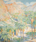 Fine Art - Painting, American:Modern  (1900 1949)  , OTTO HENRY SCHNEIDER (American, 1865-1950). Desert Canyon.Oil on canvas. 35 x 30-1/2 inches (88.9 x 77.5 cm). Signed lo...