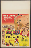 "Movie Posters:Adventure, The Black Knight (Columbia, 1954). Window Card (14"" X 22"").Adventure.. ..."