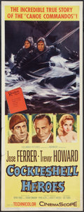 """Movie Posters:War, Cockleshell Heroes (Columbia, 1956). Insert (14"""" X 36""""). War.. ..."""