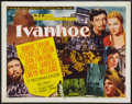 "Movie Posters:Adventure, Ivanhoe (MGM, 1952). Half Sheet (22"" X 28"") Style B. Adventure....."