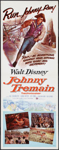 "Movie Posters:Adventure, Johnny Tremain (Buena Vista, 1957). Insert (14"" X 36""). Adventure....."