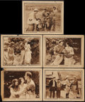 """Movie Posters:Adventure, Ebb Tide (Paramount, 1922). Lobby Cards (5) (11"""" X 14"""").Adventure.. ... (Total: 5 Items)"""