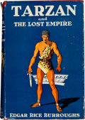 Books:Science Fiction & Fantasy, Edgar Rice Burroughs. Tarzan and the Lost Empire. New York: Grosset & Dunlap Publishers, [1940]. Later edition. ...