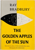 Books:Science Fiction & Fantasy, Ray Bradbury. The Golden Apples of the Sun. Garden City:Doubleday & Company, Inc., 1953. First edition. Inscr...
