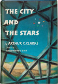 Books:Science Fiction & Fantasy, Arthur C. Clarke. The City and the Stars. New York:Harcourt, Brace and Company, [1956]. First edition. Octavo. ...