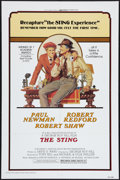 "Movie Posters:Crime, The Sting (Universal, R-1977). One Sheet (27"" X 41""). Crime.. ..."