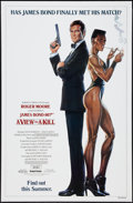 "Movie Posters:James Bond, A View to a Kill (United Artists, 1985). One Sheet (27"" X 41"").Advance. James Bond.. ..."