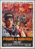 "Movie Posters:Historical Drama, Sodom and Gomorrah (Titanus, R-1970s). Italian 2 - Foglio (39"" X55""). Historical Drama.. ..."