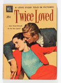 Golden Age (1938-1955):Romance, Twice Loved #nn (Dell, 1950) Condition: VG/FN....