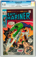 Bronze Age (1970-1979):Superhero, The Sub-Mariner #34 Twin Cities pedigree (Marvel, 1971) CGC NM/MT9.8 White pages....