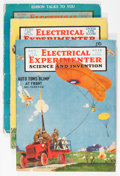Pulps:Science Fiction, Science and Invention Group (Experimenter Publishing Co., 1918-37)Condition: Average VG.... (Total: 29 Items)