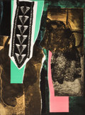 Fine Art - Work on Paper:Print, LOUISE NEVELSON (American, 1899-1988). Reflections (3works), 1983. Etching with aquatint in colors on wove paper.39-1/... (Total: 3 Items)