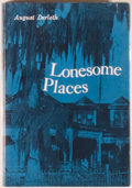 Books:Horror & Supernatural, [Jerry Weist]. August Derleth. Lonesome Places. Sauk City:Arkham House, [1962]. First edition, first printing. Octa...
