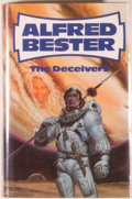 Books:Science Fiction & Fantasy, [Jerry Weist]. Alfred Bester. The Deceivers. [London]: Severn House, [1984]. First British hardcover edition, first ...