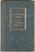 Books:Fiction, Robert Frost. A Witness Tree. New York: Henry Holt, [1942].First edition with June, 1942 on copyright page....