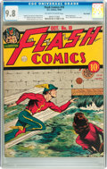 Golden Age (1938-1955):Superhero, Flash Comics #10 Billy Wright pedigree (DC, 1940) CGC NM/MT 9.8 Off-white to white pages....