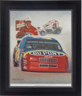 Miscellaneous Collectibles:General, Jeff Gordon Signed Lithograph....